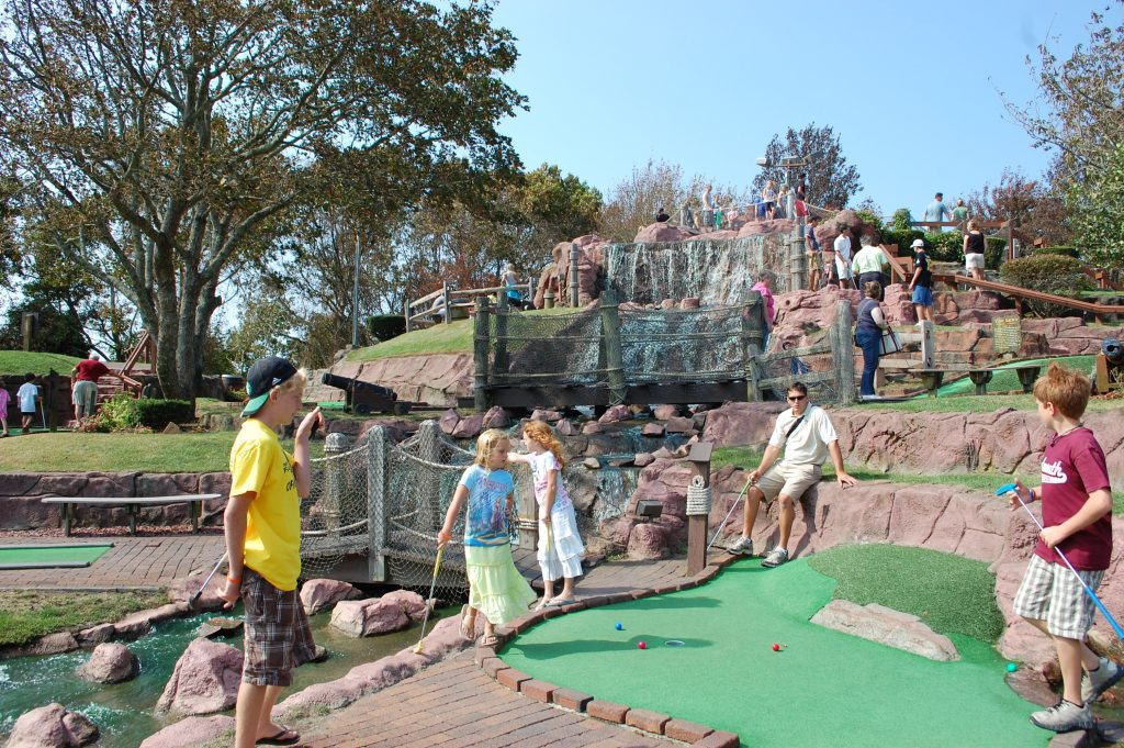 cape cod miniature golf